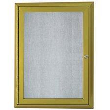 Enclosed Wall Mounted Bulletin Board