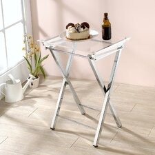 Millennial Mari Folding Tray Table (Set of 2)