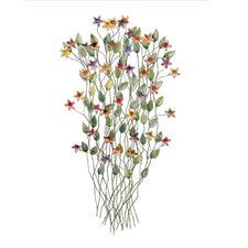 Iron Werks Wildflowers Wall Décor