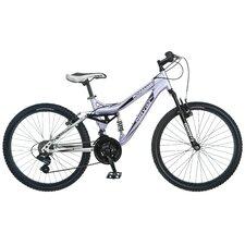 "Girl's Maxim 24"" Full Suspension Mountain Bike"