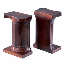 Classic Column Book Ends (Set of 2)
