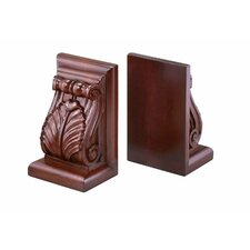Small Acanthus Book Ends (Set of 2)