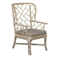 New Classics Palm Beach Dining Arm Chair with Cushion