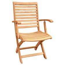 Folding Dining Arm Chair