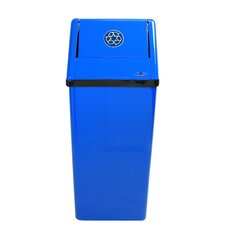 21-Gal Medium Free Standing Industrial Recycling Bin