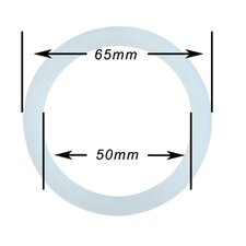 Silicone 3 to 4 Cup for Stainless Steel Espresso Gasket (Set of 5)