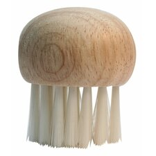 Mushroom Brush with Wooden Top (Set of 7)