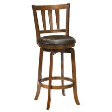 "Presque Isle 29.5"" Swivel Bar Stool with Cushion"