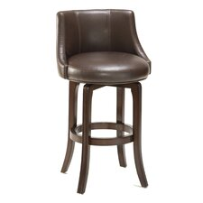 "Swivel 29.75"" Swivel Bar Stool with Cushion"