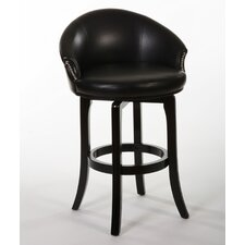 "Dartford 25"" Swivel Bar Stool with Cushion"