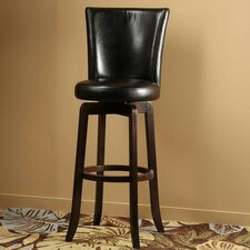 "Copenhagen 29.75"" Swivel Bar Stool with Cushion"