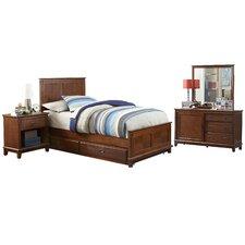 Bailey Panel 4 Piece Bedroom Set
