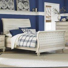 Pine Island Sleigh Bed