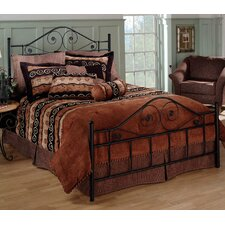 Harrison Metal Panel Bed