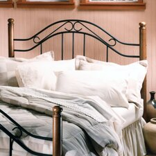 Winsloh Wood and Metal Headboard