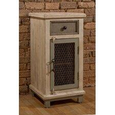 LaRose Cabinet with Chicken Wire Door