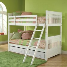 Lauren Twin Over Twin Bunk Bed with Trundle Storage