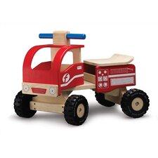 WonderEducation Push/Scoot Fire Truck