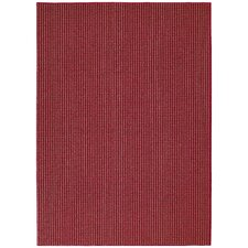 Chili Red Berber Colorations Area Rug