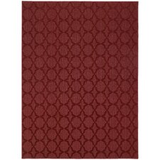 Chili Red Sparta Area Rug