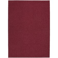 Chili Red Town Square Area Rug