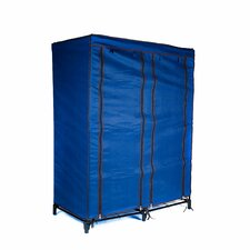 "49"" H x 36"" W x 20"" D Portable Closet with 4 Shelves"