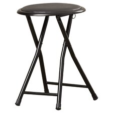Cushioned Folding Stool