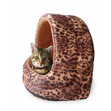 Furry Canopy Cave Cat Bed I