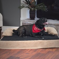 Pet Bed with Bolster