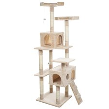 "Skyscraper 66"" Sleep and Play Cat Tree"