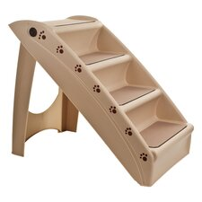 Foldable 4 Step Pet Stair