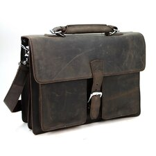 Cowhide Leather Pro Laptop Briefcase