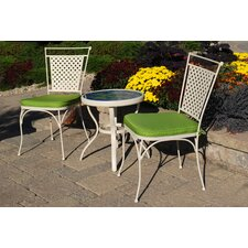 Artisan 3 Piece Bistro Set with Cushions