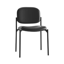 HVL606 Series Stacking Leather Guest Chair