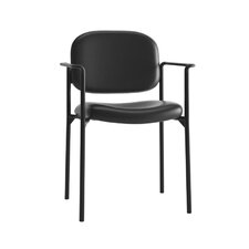 VL616 Series Leather Task Chair with Arms