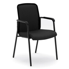 Mesh Back Multi-Purpose Fixed Arms Stacking Chair