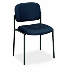 Four-High Armless Office Stacking Chair