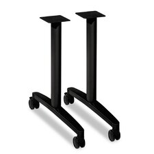 """Huddle T-Leg Base for 24"""" and 30"""" Deep Table Tops (Set of 2)"""