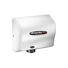 Adjustable High Speed 100 - 240 Volt Hand Dryer in White