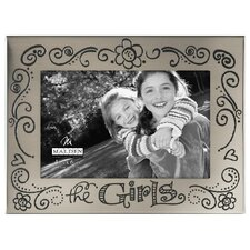 """4"""" x 6"""" The Girls Whimsy Picture Frame"""