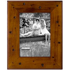 Hammered Wood Picture Frame
