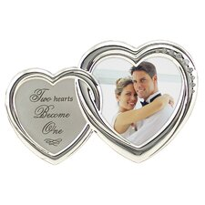 Two Hearts Love Picture Frame