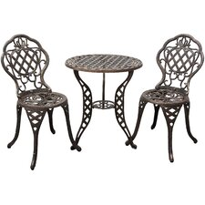 Cambridge 3 Piece Bistro Set