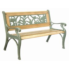 Insect Cast Iron Kid's Park Bench
