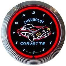 "15"" Corvette C1 Wall Clock"