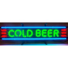 Business Signs Cold Beer Neon Sign