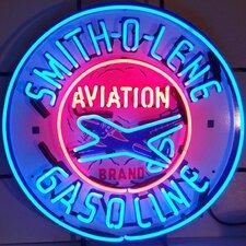 Smith-O-Line Gasoline Neon Sign
