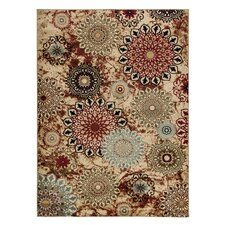 Barclay Delilahs Place Floral Suzani Area Rug