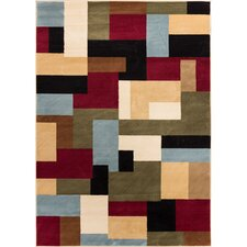 Barclay River Modern Area Rug