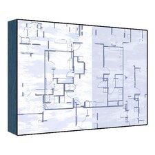 Blue Plan I Wall Art